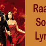 Raabta Song Lyrics