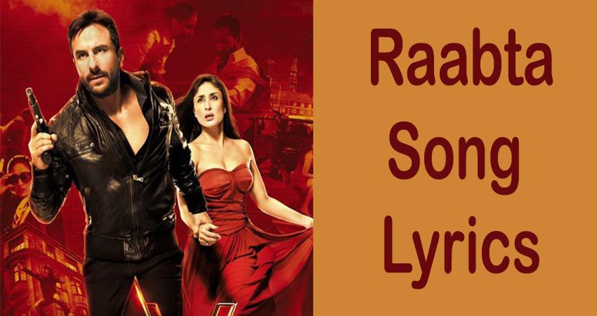 Raabta Song Lyrics